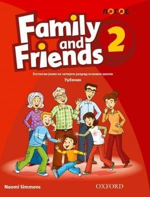 Engleski jezik 4, Family and Freinds 2, udžbenik