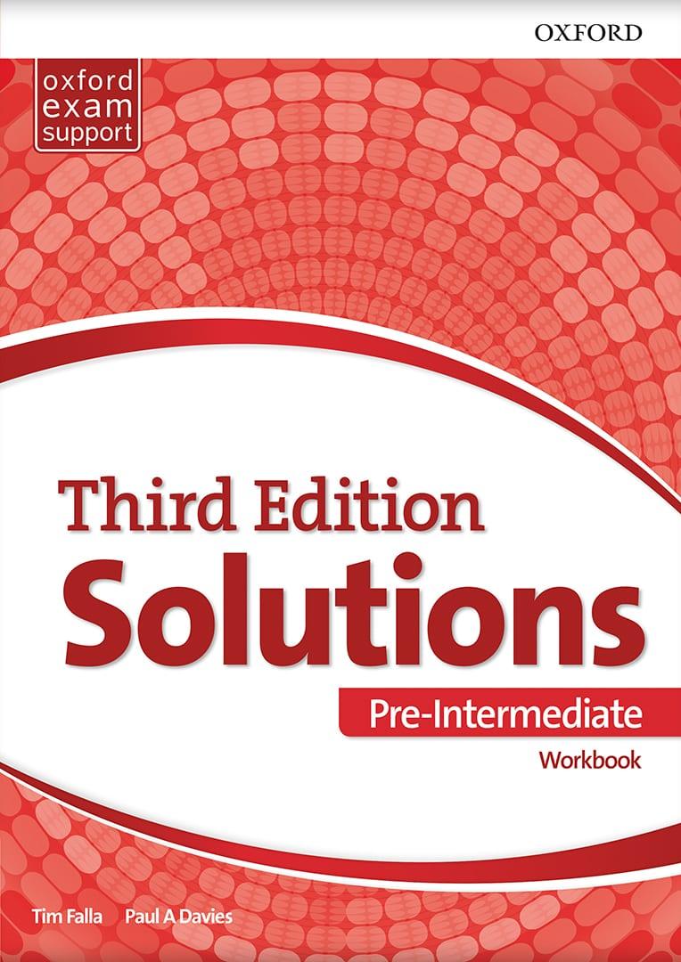 Енглески језик 1, Solutions 3rd edition Pre-intermediate, радна свеска за први разред средње школе