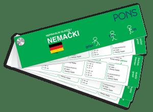 PONS Неправилни глаголи – немачки