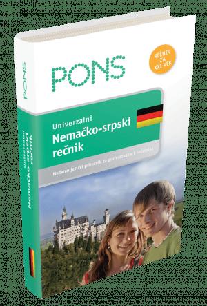 PONS Универзални немачко-српски речник