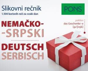 PONS Мали сликовни речник српско-немачки