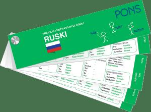 PONS Неправилни глаголи – руски