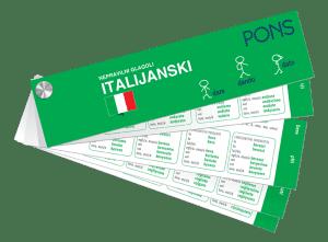 PONS Неправилни глаголи – италијански