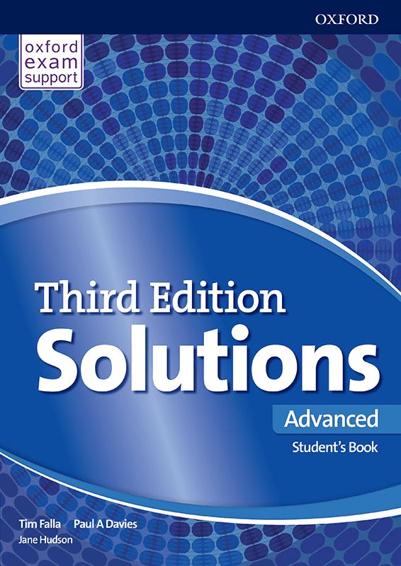 Енглески језик, Solutions 3rd edition Advanced, уџбеник за четврти разред средње школе