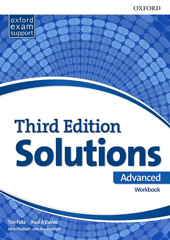 Енглески језик, Solutions 3rd edition Advanced, радна свеска за четврти разред средње школе
