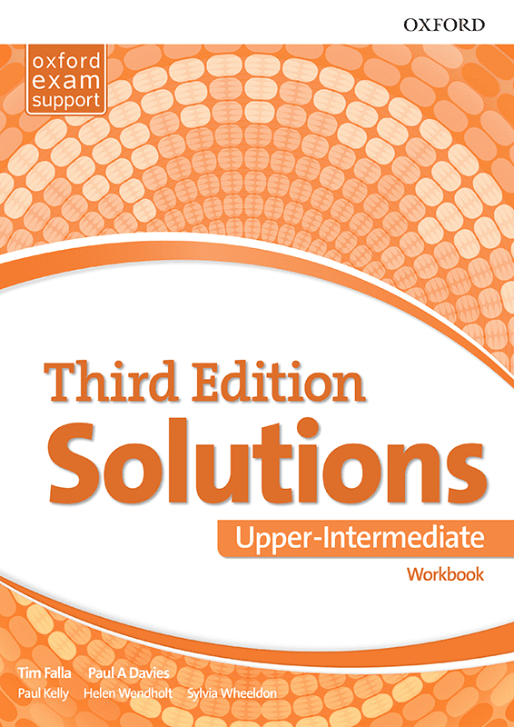 Енглески језик, Solutions 3rd edition Upper-intermediate, радна свеска за трећи и четврти разред средње школе