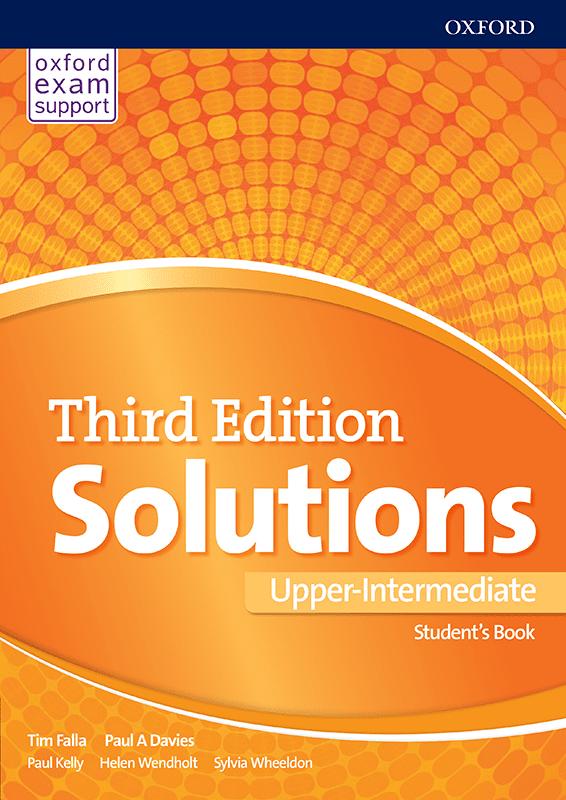 Енглески језик, Solutions 3rd edition Upper-intermediate, уџбеник за трећи и четврти разред средње школе